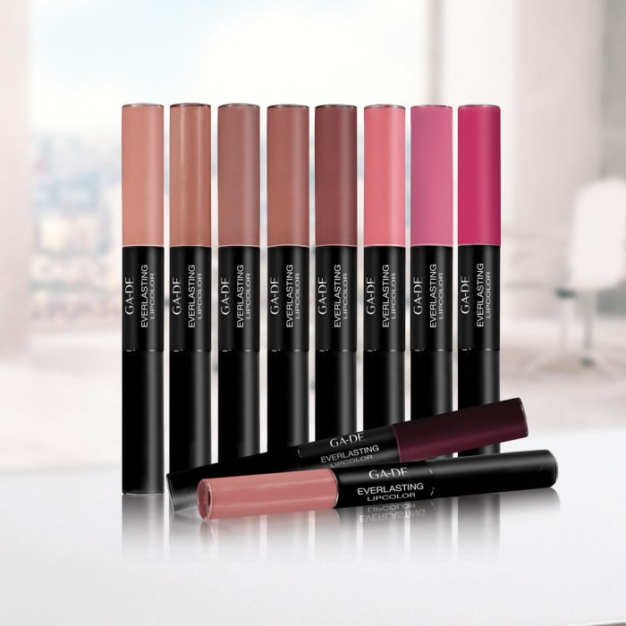 "סדרת שפתונים EVERLASTING LIP COLOR של GA-DE (יח""צ)"