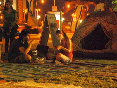 ערי אוהלים ברחבי הארץ. מחאה בבאר שבע (צ' - שי גליקמן)