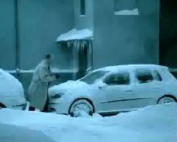 שלג נערם ברחובות (אילוסטרציה, מערכת וואלה!)