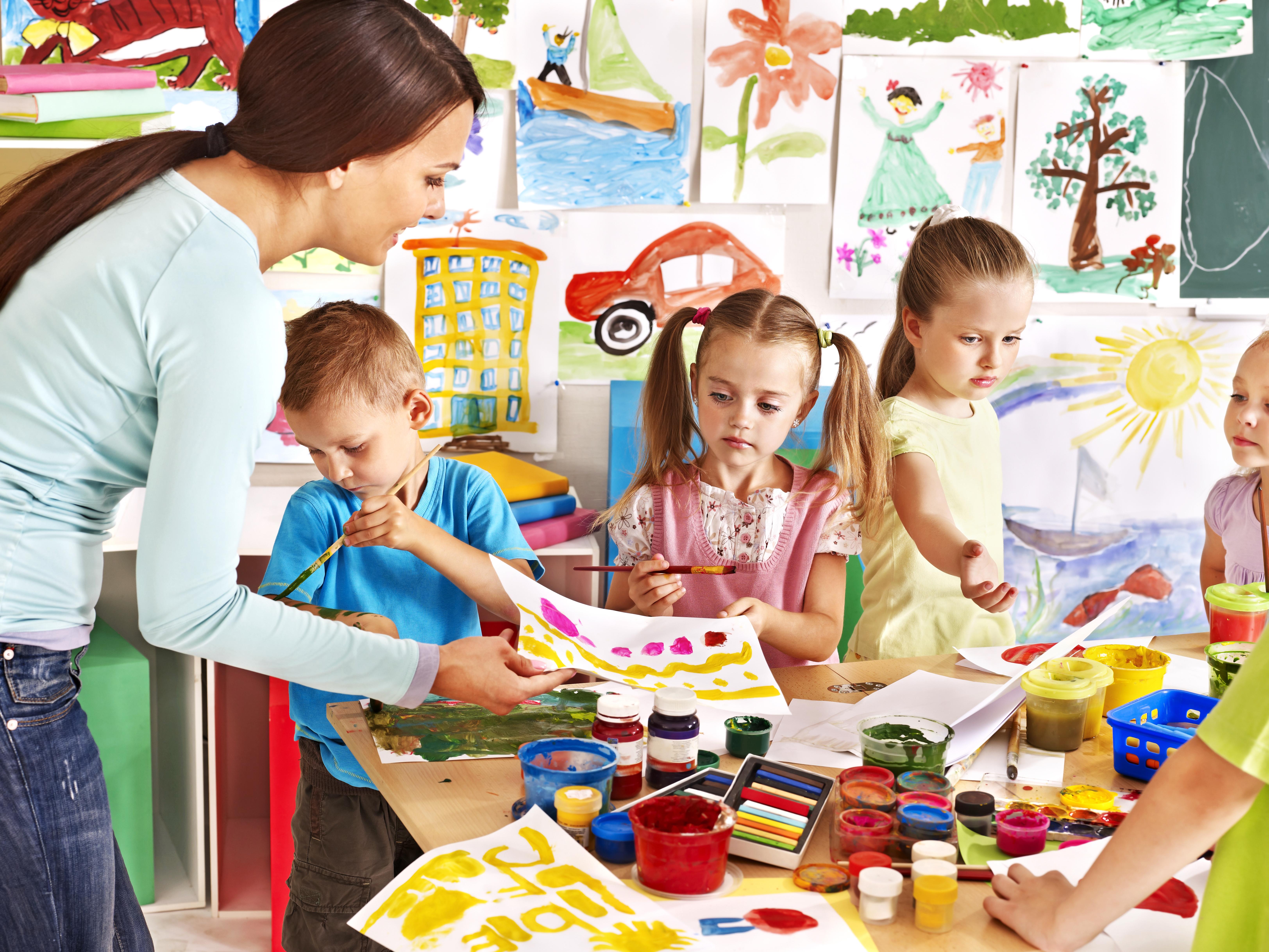 להיות במקצוע הנכון ולתת לילדים להביע את עצמם בדרכים שונות (צילום: shutterstock)