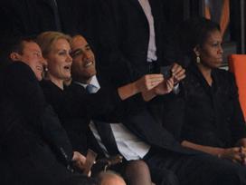 גם אובמה לא וויתר, רק חבל שבלי מישל (צ' - צילום מסך)
