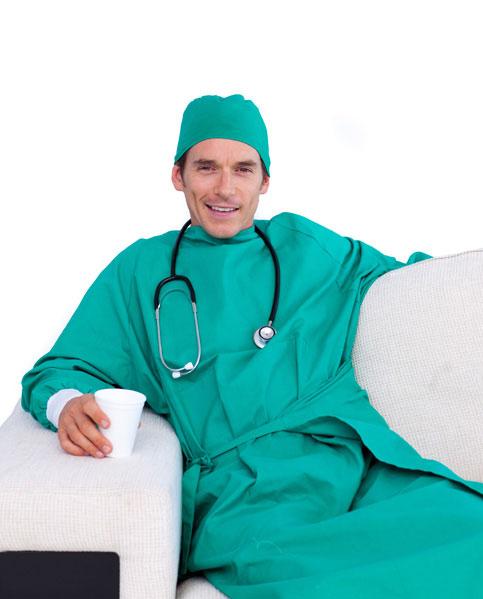 סטודנטים לרפואה משפרים הכי הרבה את הידע המקצועי שלהם (צ'- shutterstock)