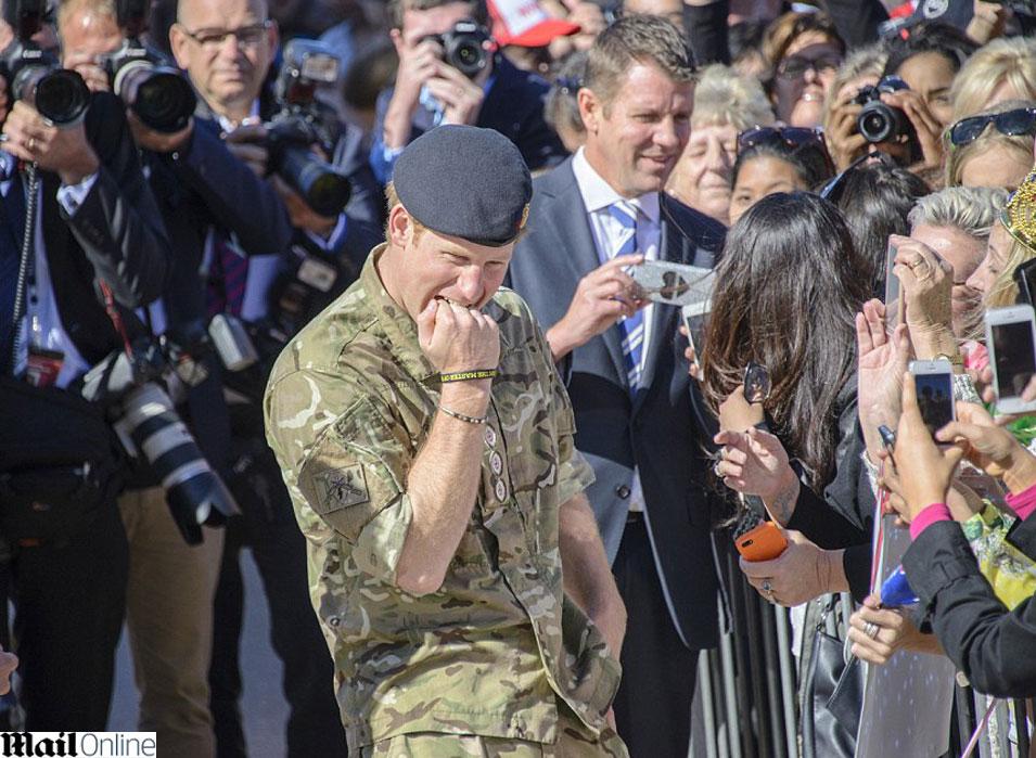 צריך זמן לעכל את כל הסיטואציה, הנסיך הארי (צילום מסך-Daily Mail)