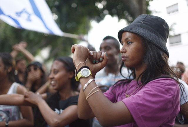 לא רק באמצעות הפגנות ברחובות, אומרים די לגזענות (צ'-מגד גוזני)