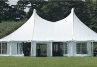 אוהל בדשא. 60 משפחות שהו בכל אוהל. (ShutterStock)