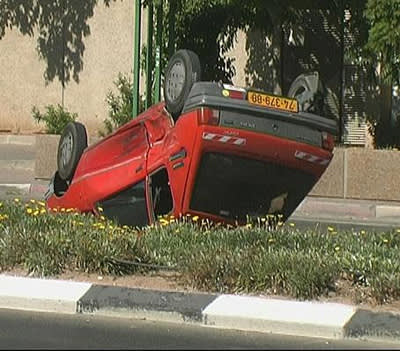 המעורבות בתאונות יורדות עם העליה בניסיון (וואלה)