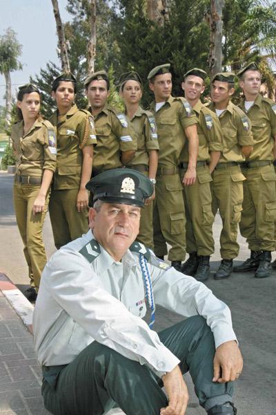 """רנ""""ג ארצי. יתנדב למשטרה. (ניר אריאלי)"""