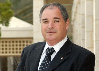 """דוד ברקת, מנכ""""ל וסגן נשיא האוניברסיטה.  להפוך את הסטודנטים לשגרירים של רצון טוב"""