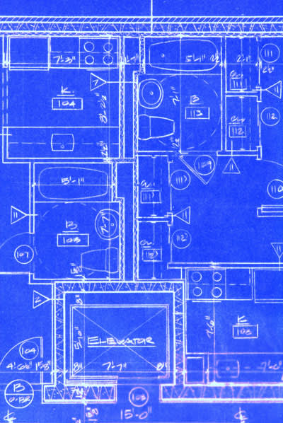 תרשים של דירה. הארנונה נקבעת גם לפי ההכנסה. (ShutterStock)