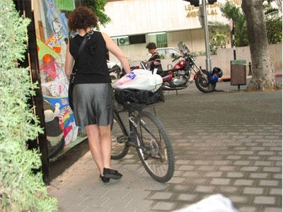 אופניים בעיר. הדרך הנוחה והבריאה. (צילום: יורם לימודים)