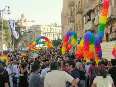 מצעד הגאווה בירושלים 2007 (צ' - דרור דנינו, הבית הפתוח)