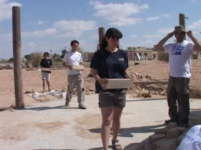 בונים את כפר הסטודנטים באשלים (צ' - יורם לימודים, תמי אייזנברג)