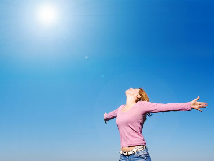 חופשיה ומאושרת: לא חוזרת לסטסיסטיקה לעולם  (צילום:shutterstock)