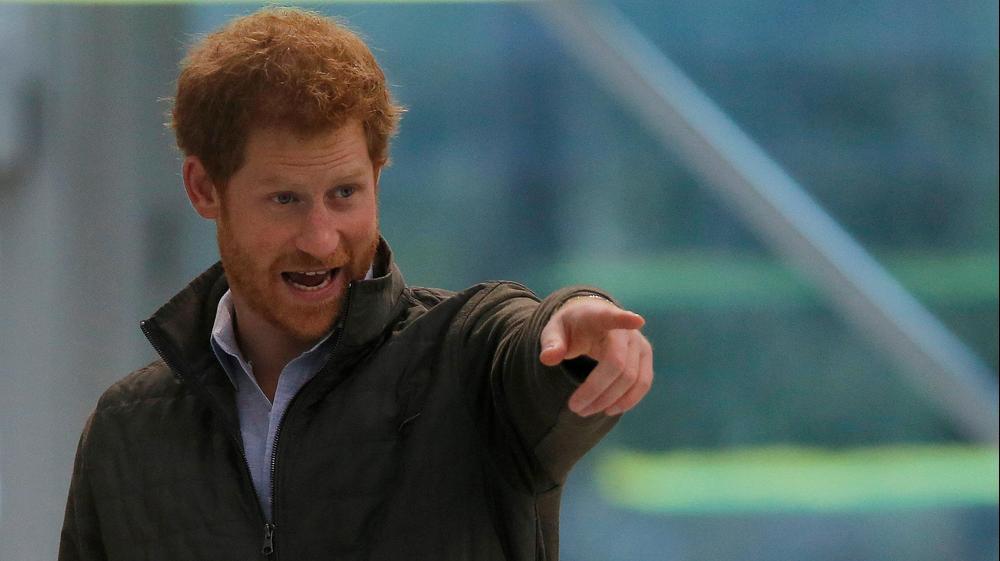 הנסיך הארי, יוני 2017. רויטרס