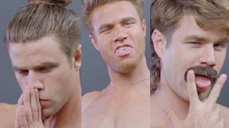 שלושה סוגי דושים. Evolution of Douchebag Style, צילום מסך