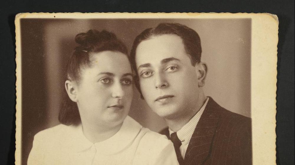 הזוג בורנשטיין, לפני המלחמה. באדיבות המשפחה