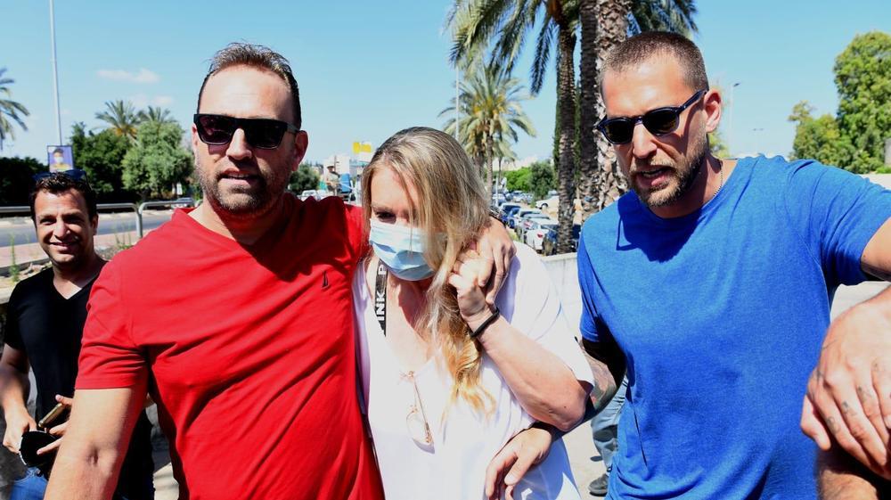 שחרורה של ציפי רפאלי מכלא נווה תרצה 24 במאי 2021. ראובן קסטרו