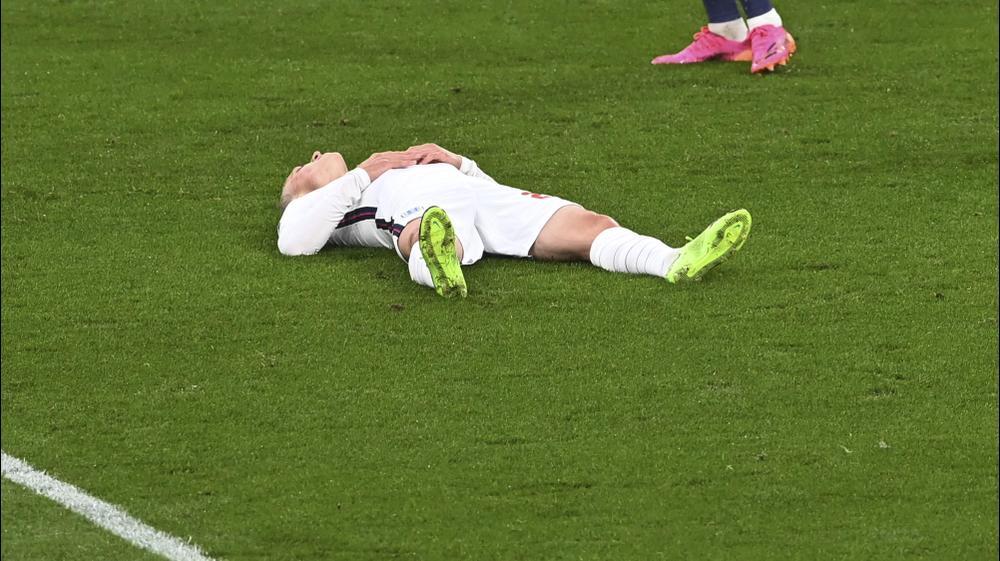 פיל פודן שחקן נבחרת אנגליה. Facundo Arrizabalaga, AP