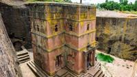 אתר העתיקות לליבלה (Lalibela) שבצפון אתיופיה. ShutterStock