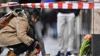 הפגנה בברלין בעקבות פיגוע הירי בעיר הנאו נגד מוסלמים, 80 בפברואר 2020. אי-פי, AP