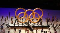 טקס הפתיחה של אולימפיאדת טוקיו 2020. רויטרס