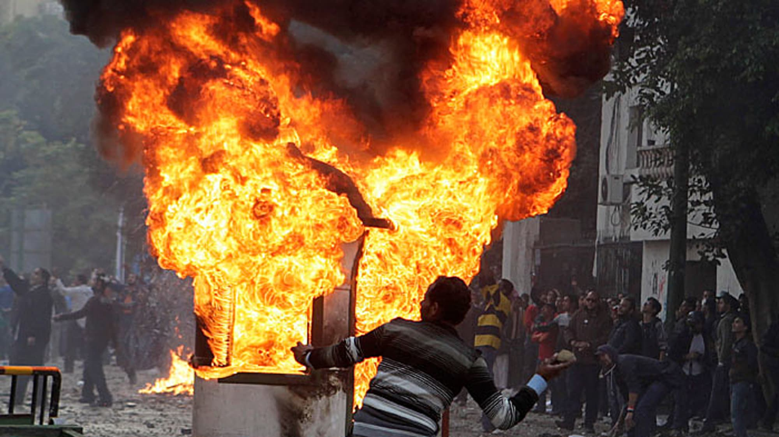 המהומות במצרים התחדשו, דצמבר 2011. רויטרס