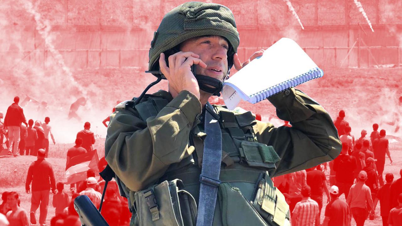 """אל""""מ ישראל שומר. דובר צה""""ל"""