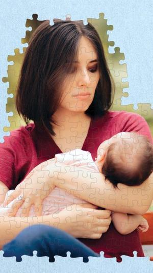 דיכאון לאחר לידה. ShutterStock