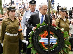 יום הזיכרון: ישראל מתייחדת עם זכר הנופלים. טל אנגלנדר, שלומי גבאי, ערוץ 1, דניאל בוק