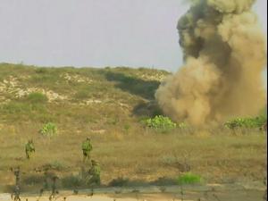 """תיעוד חדש: הלחימה מול המחבלים שחדרו לעוטף עזה. דובר צה""""ל"""