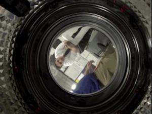 גו פרו במכונת כביסה. צילום מסך, צילום מסך