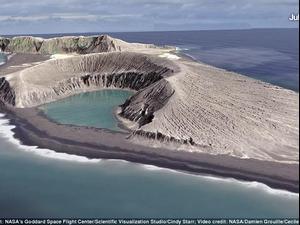 """נאס""""א גילתה אי חדש. NASA, אתר רשמי"""