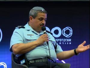 """רב ניצב אלשיך: """"תפקידי למקסם את הסיכוי שהמועמד הבא יגיע מקרב שורות המשטרה"""". יותם רונן"""