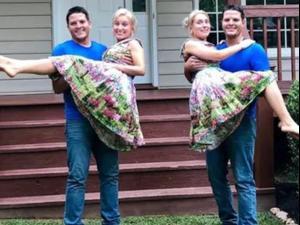 התאומות שהתחתנו עם תאומים. TLC, אתר רשמי