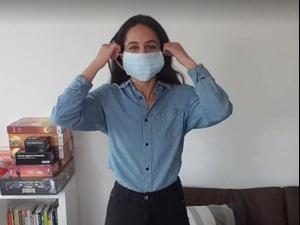 קורונה. מתוך סרטון משרד הבריאות, צילום מסך