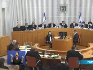 """בג""""ץ דן בעתירות נגד ההסכם הקואליציוני בין הליכוד לכחול לבן. לשכת העיתונות הממשלתית"""