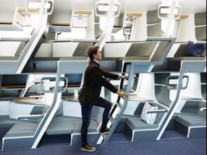 מושבים לטיסה בעידן הקורונה. Zephyr Aerospace, אתר רשמי
