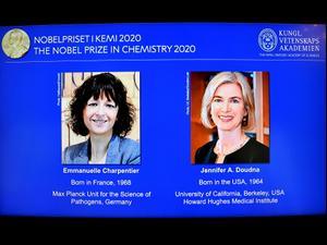 הזוכות בפרס נובל לכימיה: חוקרות בתחום עריכת הגנום  7.10.20. רויטרס