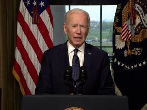 """ביידן הכריז על נסיגה מאפגניסטן עד 11 בספטמבר: """"הגיע הזמן לשוב הביתה"""" 14.04.21. רויטרס, רויטרס"""
