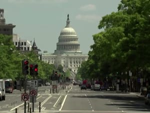 """בית הנבחרים בארה""""ב הצביע בעד הפיכת וושינגטון הבירה למדינה 23.04.21. רויטרס, רויטרס"""