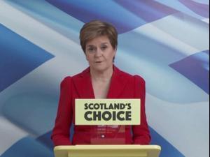ראש ממשלת סקוטלנד על ניצחון תומכי העצמאות בבחירות: אין הצדקה לחסום את רצון העם הסקוטי 9.5.21. רויטרס
