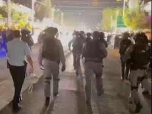 עימותים בחיפה: עצורים בהפגנת הזדהות עם אירועי הר הבית. יואב איתיאל