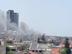 פגיעה ישירה באשדוד ובאשקלון 11.5.21. אנשי הדממה, אתר רשמי