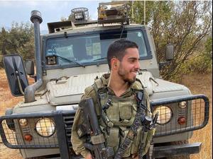 """חודש לפני השחרור: סמ""""ר עומר טביב נהרג מפגיעת טיל הנ""""ט בעוטף  12.5.21. שלומי גבאי"""