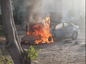 מהומות בלוד: עימותים בין פעילי ימין קיצוני לערבים ולשוטרים בעיר  12.5.21. יותם רונן