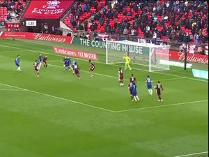 תקציר גמר הגביע האנגלי צ'לסי - לסטר סיטי 1:0. ספורט 2