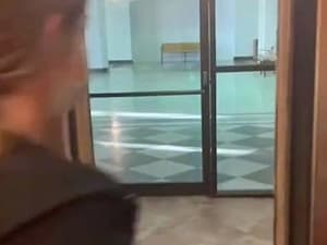 קניון נטוש מתחת לדירת הנופש. TikTok/claire.scheulin, צילום מסך