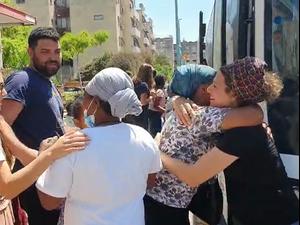 לוד: כ- 30 משפחות של יהודים שעזבו את העיר בתחילת המהומות חזרו לביתן 18.5.21. ראובן קסטרו