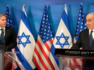 """שר החוץ של ארה""""ב: מחוייבים לביטחון ישראל ולשיקום עזה  25.5.21. רוני כנפו"""