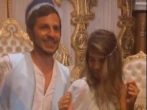 גלעד שליט חוגג בחינה לפני החתונה. אינסטגרם, _malkatmaroko, צילום מסך